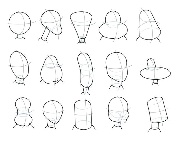 how to make cartoon charactars
