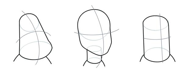 how to draw cartoon heads