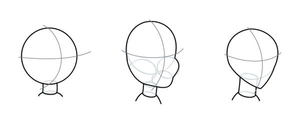 Female Cartoon Heads