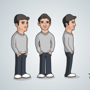 Cartoon Character Turnarounds