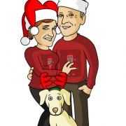 christmas-caricature