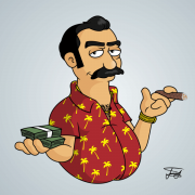 Cartel Cartoon Character