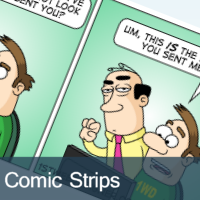 Comic Strip Illustration
