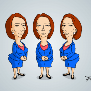 Julie Gillard Cartoon