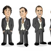 ushers-caricature