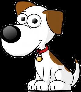 Free Cartoon Dog Vector Clip Art